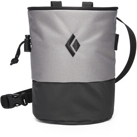 Black Diamond Mojo Zip Chalk Bag S/M, ash-slate